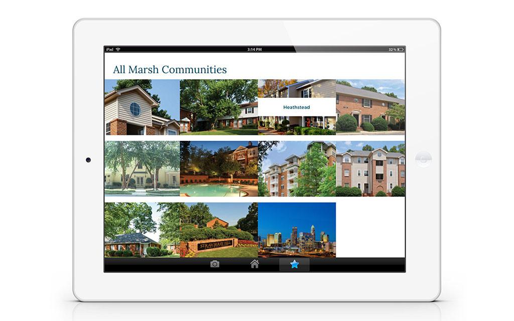 Marsh Properties Website - Ipad Responsive
