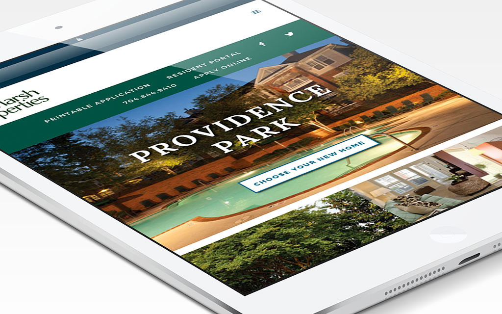 Marsh Property - Property Listing, Responsive Web Design