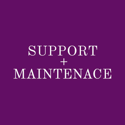 support-and-maintenance